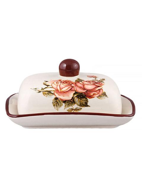 Маслянка «Корейська троянда» (17х12х8 см) LEFARD 4648052