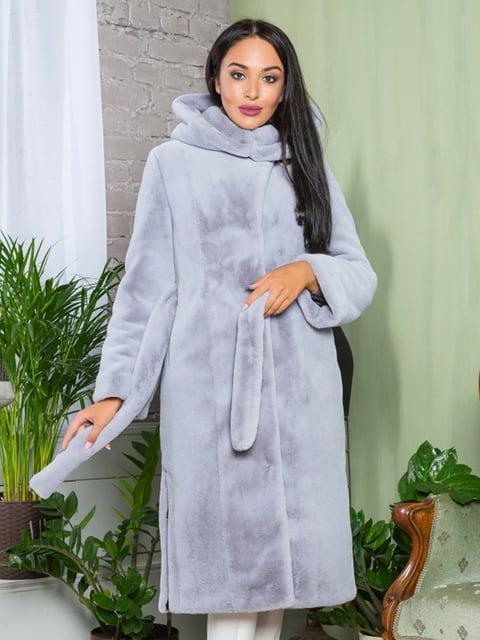 Шуба серая Grand Furs 4649356
