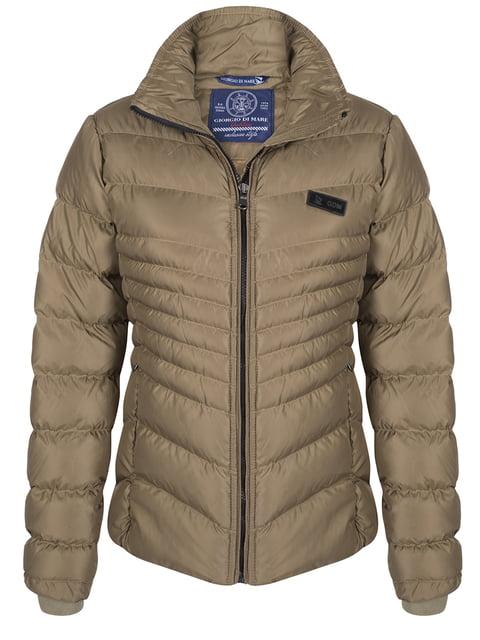 Куртка цвета хаки Giorgio di Mare 4592973