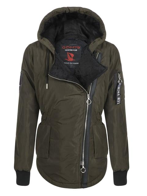 Куртка цвета хаки Giorgio di Mare 4592975