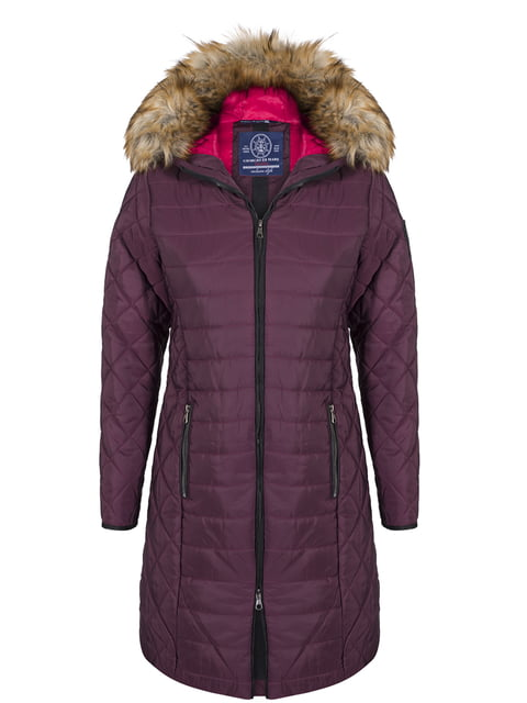 Пальто цвета марсала Giorgio di Mare 4593013