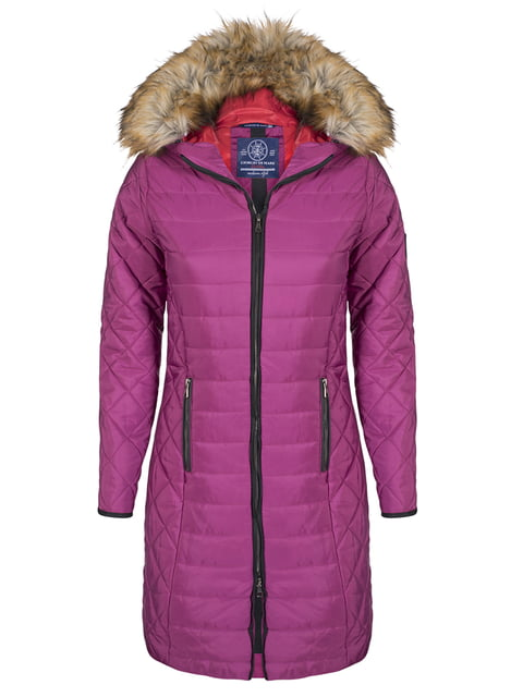 Пальто цвета фуксии Giorgio di Mare 4593015