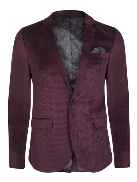 Пиджак цвета марсала Giorgio di Mare 4649783