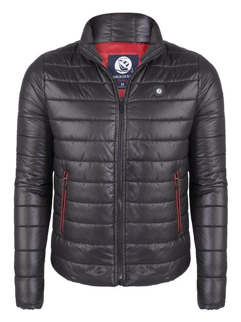Куртка чорна Giorgio di Mare 4649795