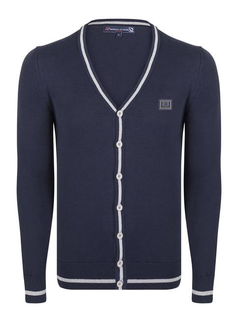 Кофта темно-синя Giorgio di Mare 4649799