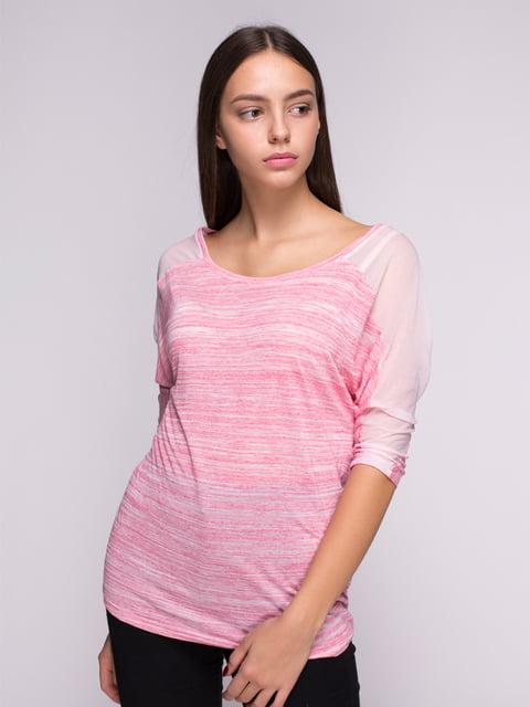 Блуза розовая Bershka 2733077