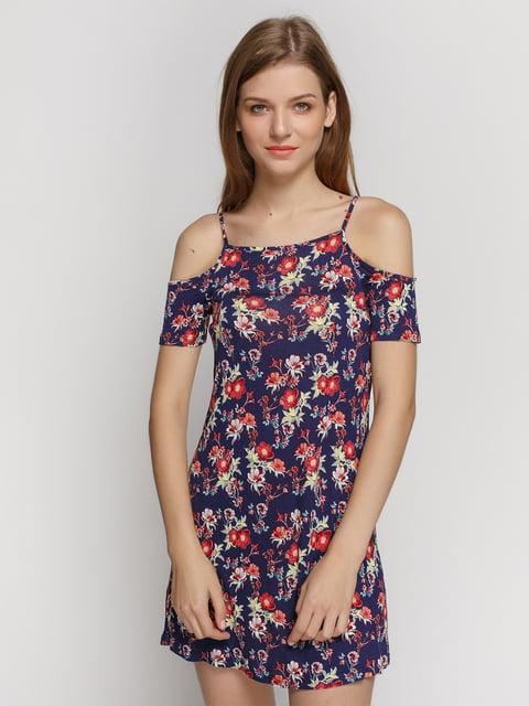 Сукня синя в квітковий принт H&M 4405794