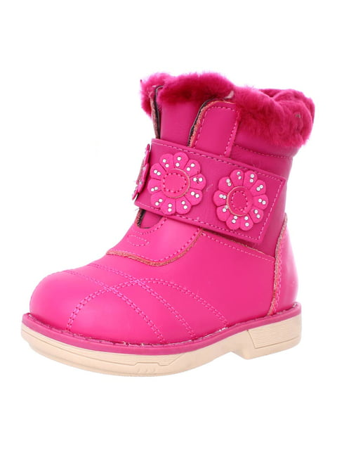 Ботинки розовые Шалунишка 4653960