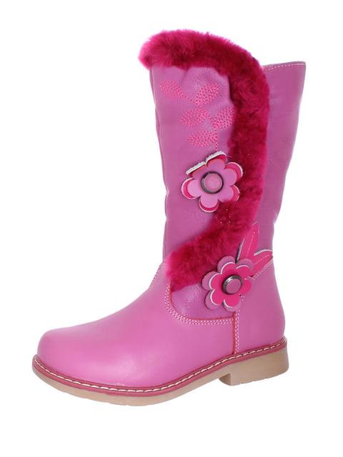 Сапоги розовые Шалунишка 4653963