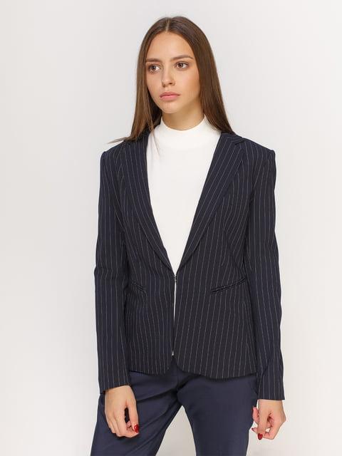 Жакет темно-синій в смужку H&M 4601180