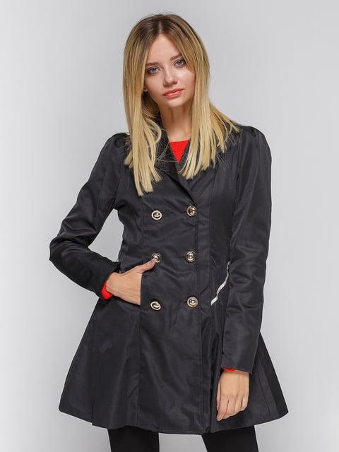 Пальто чорне SH-Shapkoff 3612011