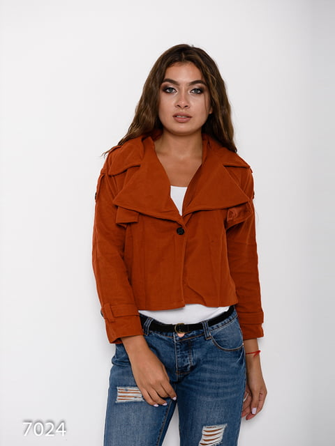Куртка рудого кольору Magnet 4641096
