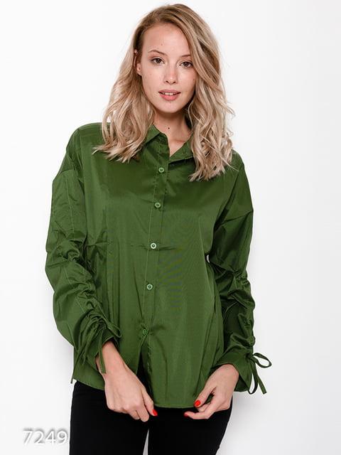 Рубашка зеленая Magnet 4641182