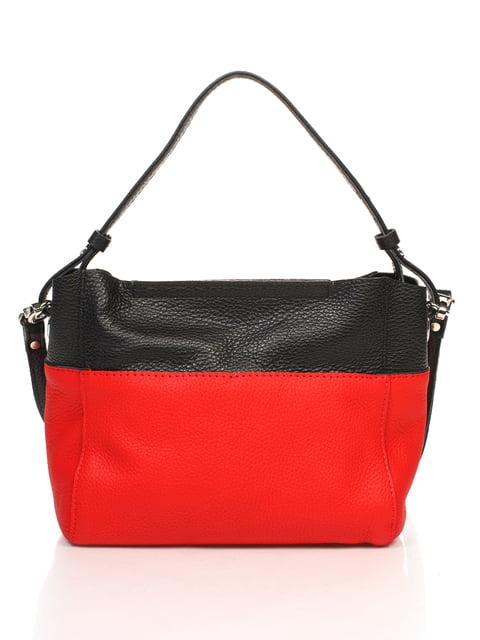Сумка красно-черная Monika Ricci 4652455