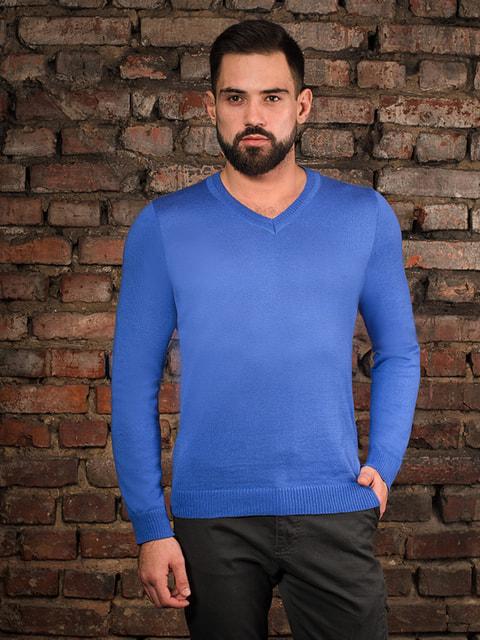 Пуловер ярко-синий G-Rom 4058321