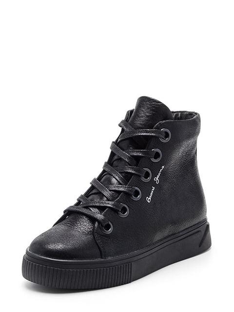 Ботинки черные Broni 4659827