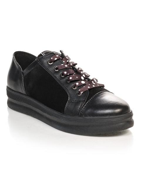 Туфлі чорні NUBE 4469824