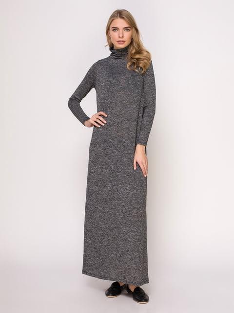 Сукня сіра меланжева Lefties 4621537