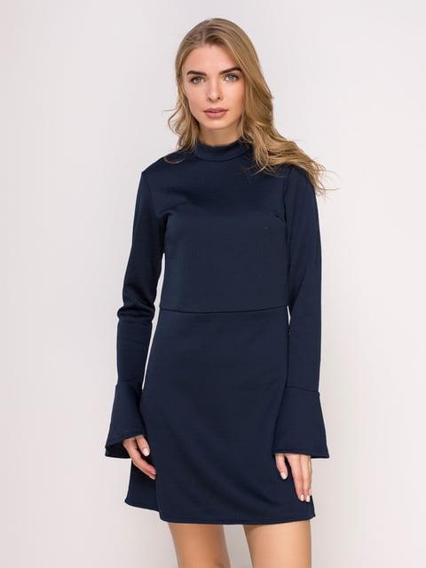 Сукня темно-синя з візерунком Lefties 4623044
