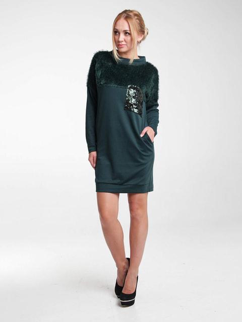 Платье зеленое MOONLIGHT 4660035