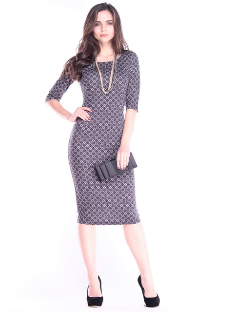 Платье в принт Dioni 2995926