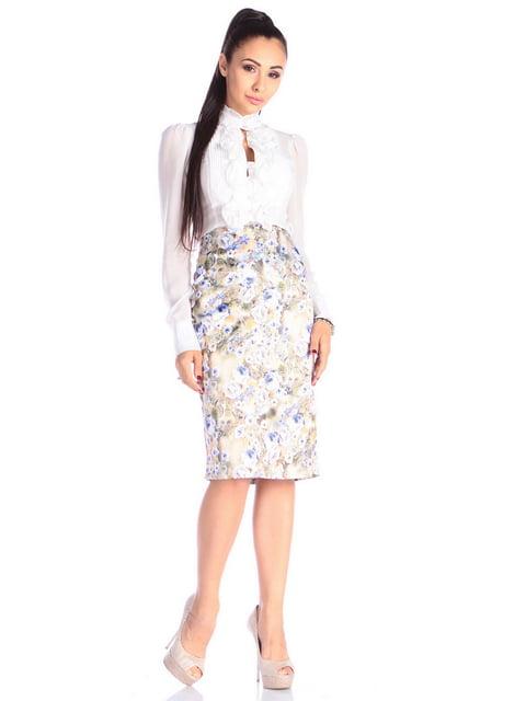 Спідниця в квітковий принт Laura Bettini 4629363