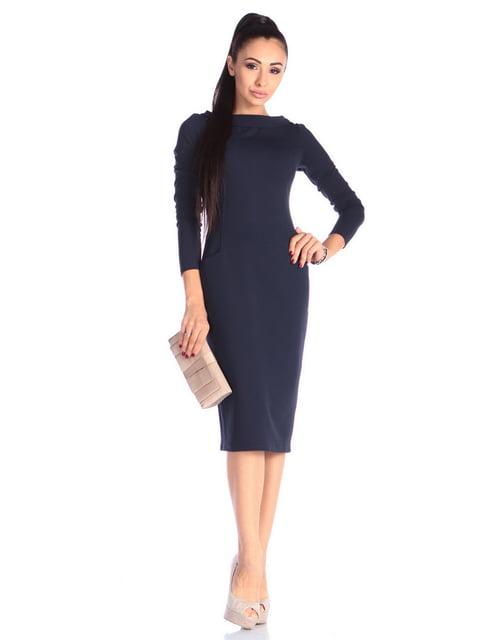 Сукня темно-синя Laura Bettini 4636831
