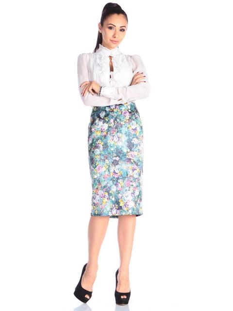 Спідниця в квітковий принт Laura Bettini 4636852