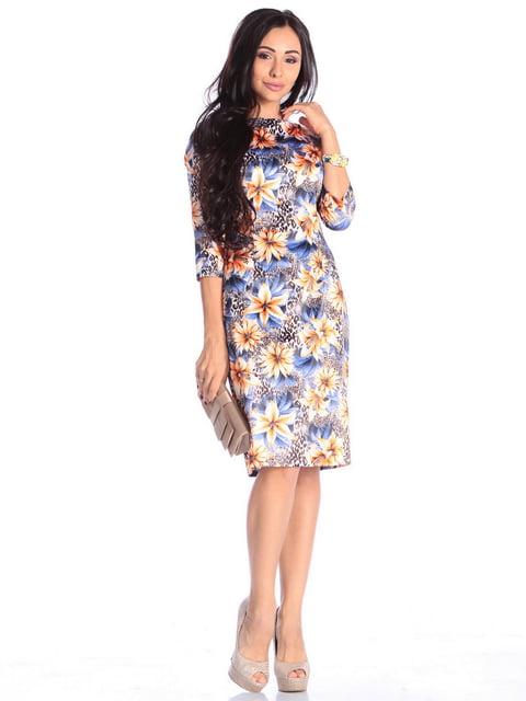 Сукня в принт Laura Bettini 4636958