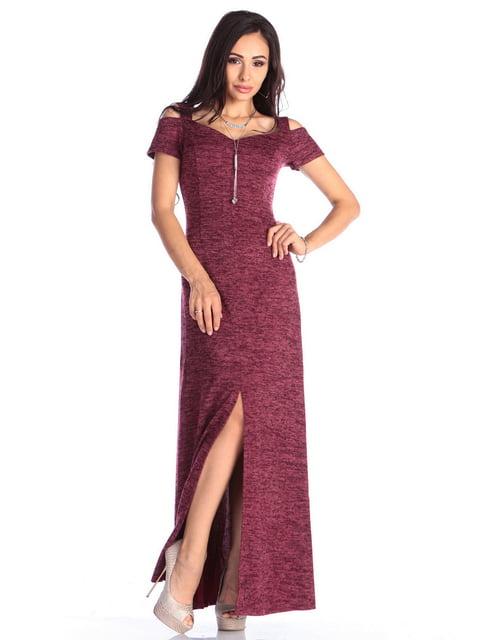 Платье сливового цвета Laura Bettini 4636985