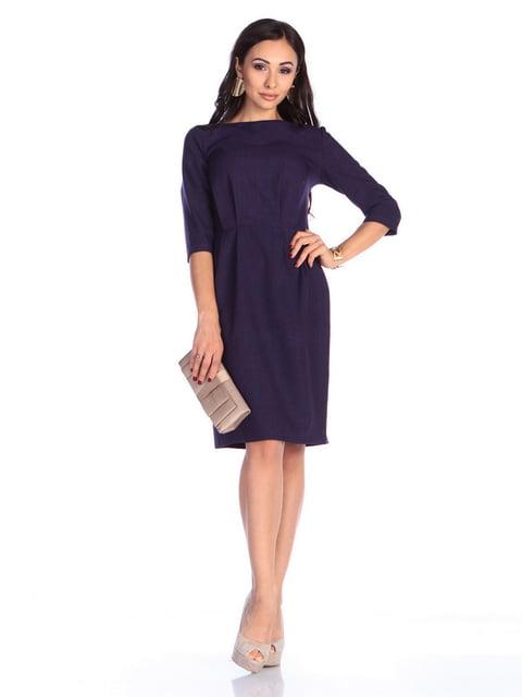 Платье темно-фиолетовое Laura Bettini 4637001