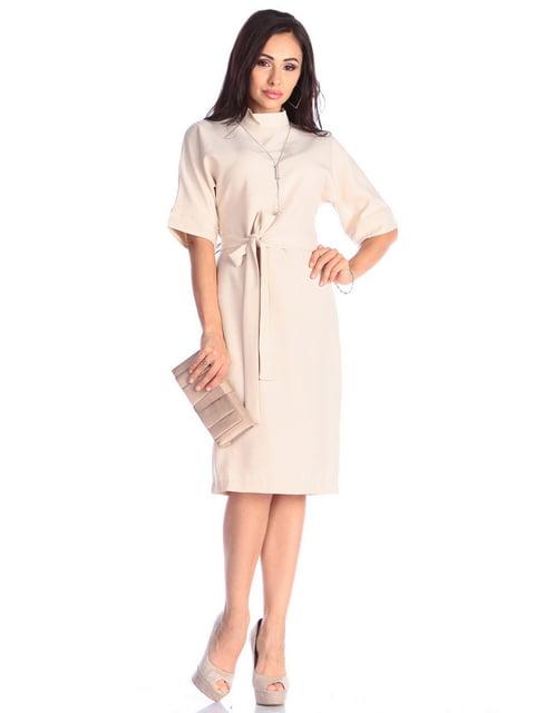 Платье бежевое Laura Bettini 4637004