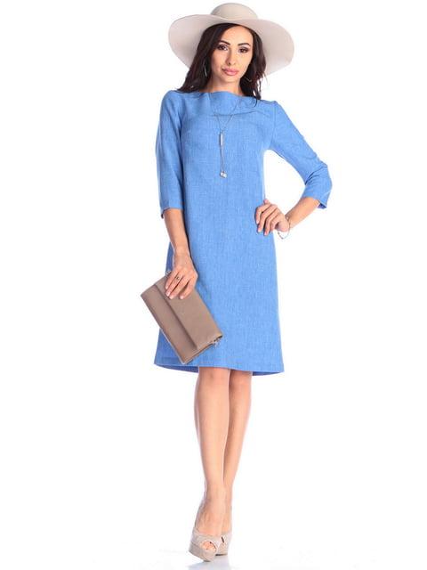 Сукня блакитна Maurini 4637075