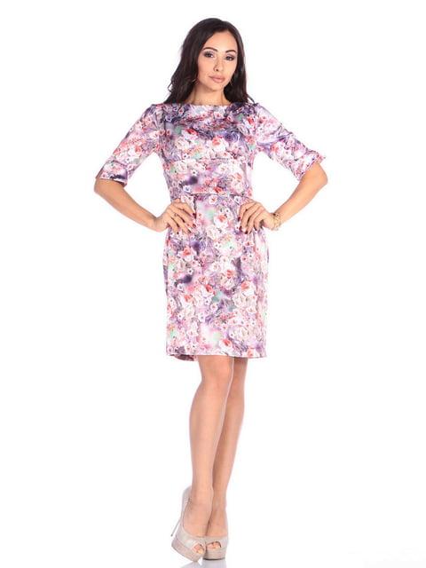 Платье в цветочный принт Laura Bettini 4648616