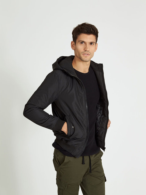 Куртка чорна Piazza Italia 4652716