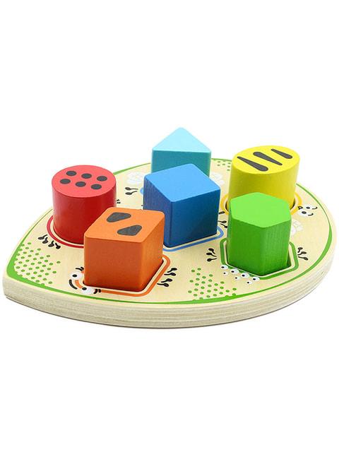 Іграшка-сортер «Жучок» Игрушки из дерева 4635296