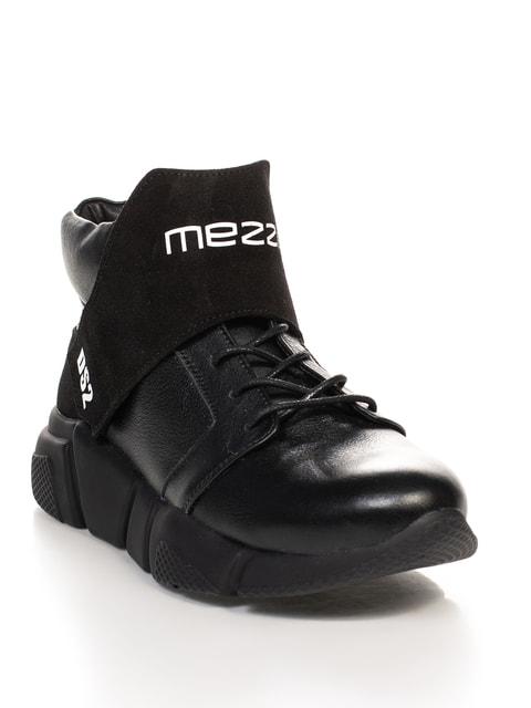 Кросівки чорні з принтом DTS 4664559