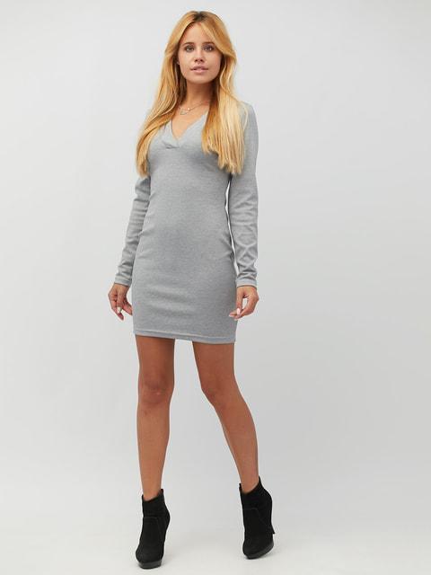 Платье светло-серое CRISS 4628086