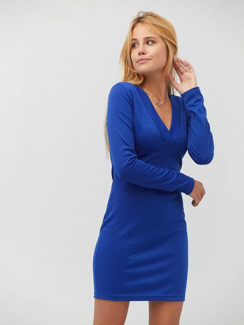 Платье цвета электрик CRISS 4628088