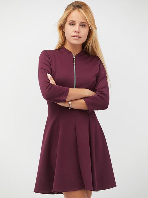 Платье черничного цвета CRISS 4669692