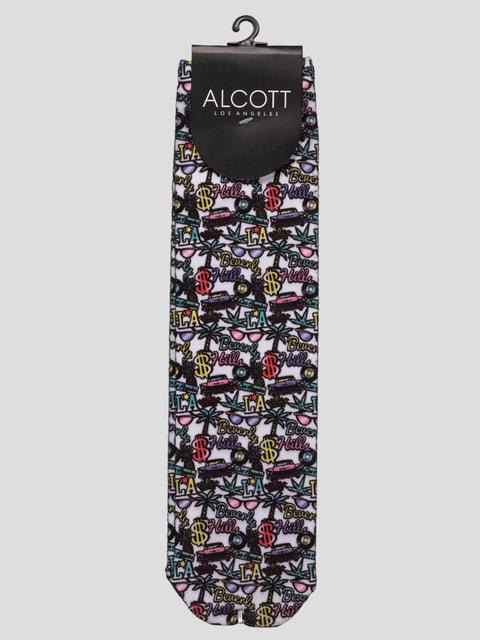 Шкарпетки з малюнком Alcott 4627080