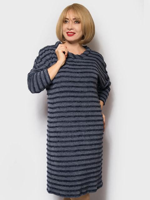 Платье синее в полоску LibeAmore 4673104