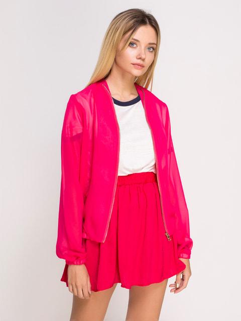 Бомбер яскраво-рожевий Alcott 4626942