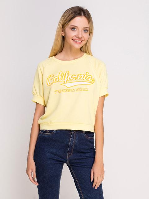 Джемпер жовтий Alcott 4626803