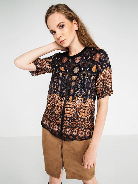 Блуза в принт BGN 4653015