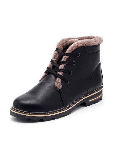 Ботинки черные Tops 4675880