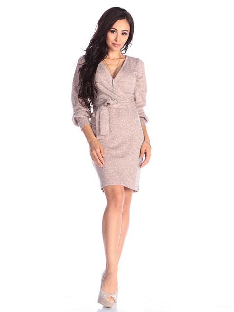 Платье персикового цвета Laura Bettini 4637030