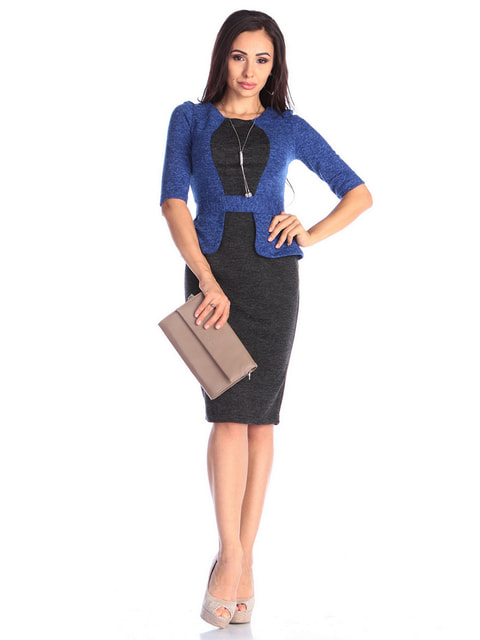 Платье двухцветное Laura Bettini 4637032