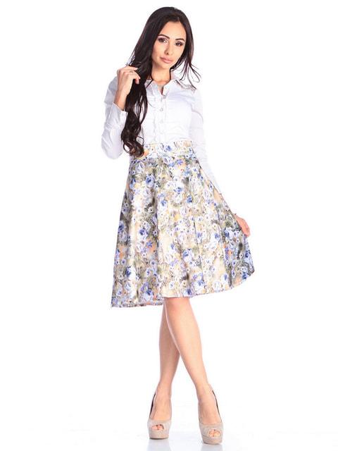 Юбка в цветочный принт Laura Bettini 4671708