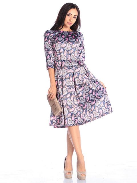 Сукня в квітковий принт Laura Bettini 4671718